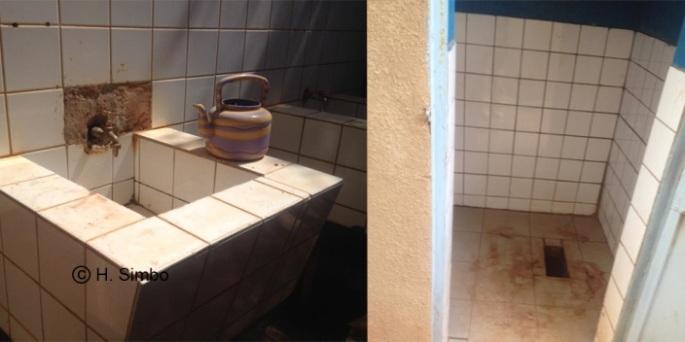 toilette relativement propre bogodogo